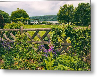 The Rustic Fence Metal Print by Jessica Jenney