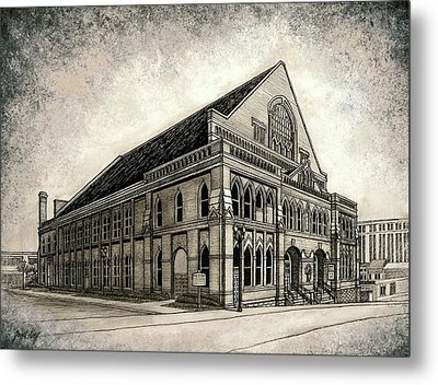 The Ryman Metal Print by Janet King