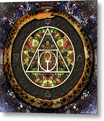 The Sacred Alchemy Of Life Metal Print