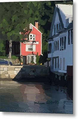 The Sacred Cod And Beacon Marine Metal Print by Melissa Abbott