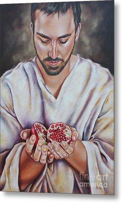 The Sacrifice Of Jesus Metal Print by Ilse Kleyn