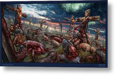 The Sacrifice Metal Print by Tony Koehl