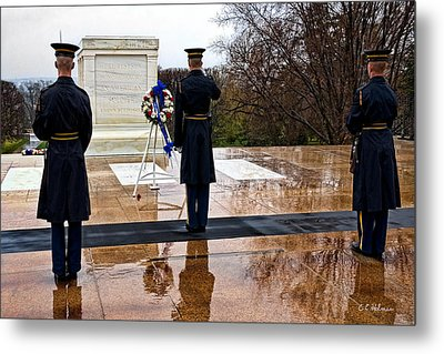 The Salute Metal Print by Christopher Holmes