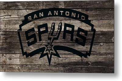 The San Antonio Spurs 1w Metal Print by Brian Reaves