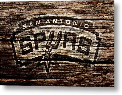 The San Antonio Spurs 2e Metal Print by Brian Reaves