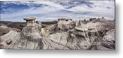 Metal Print featuring the photograph The Sandcastles by Melany Sarafis