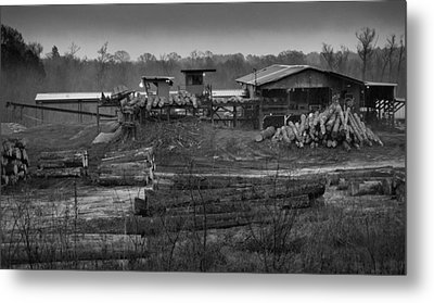 The Sawmill In Nacogdoches Metal Print