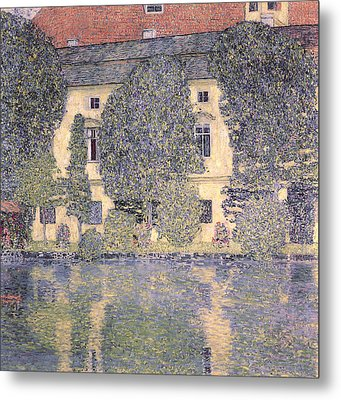 The Schloss Kammer On The Attersee IIi Metal Print by Gustav Klimt