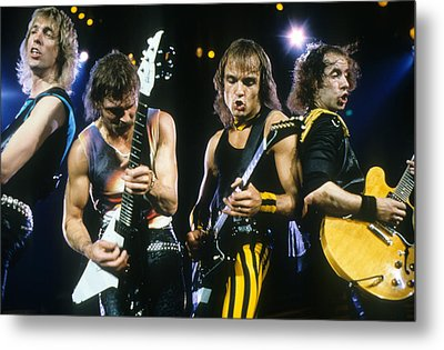 The Scorpions Metal Print by Rich Fuscia