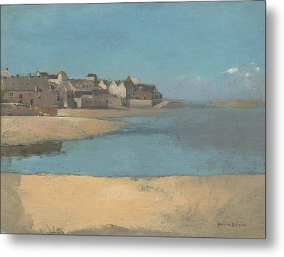 The Sea In Brittany Metal Print