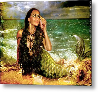 The Sea Is Calling  Metal Print