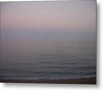 The Sea Oh The Sea Metal Print by Roger Cummiskey