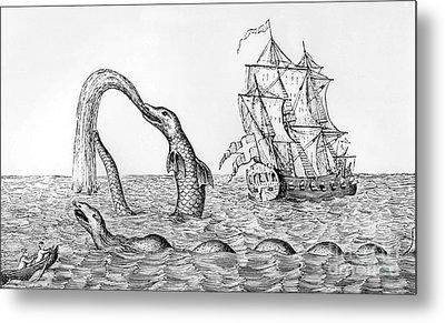The Sea Serpent Metal Print