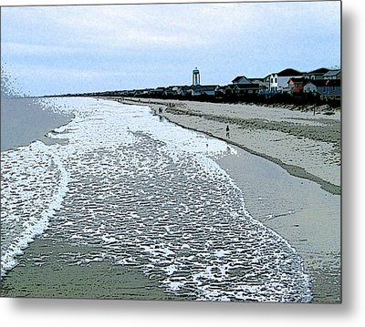 Metal Print featuring the photograph The Seacoast by Skyler Tipton