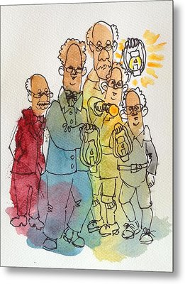 The Search Committee Metal Print