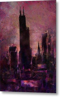 The Sears Tower Metal Print by Rachel Christine Nowicki