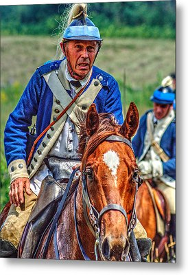 The Second Regiment Light Dragoons 004 Metal Print