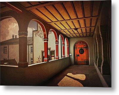 The Secret Door In Basel Switzerland  Metal Print