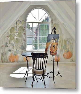 The Secret Room Metal Print by Lisa Kaiser