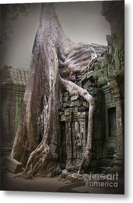 The Secrets Of Angkor Metal Print by Eena Bo