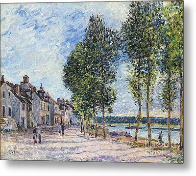 The Seine  Metal Print by Celestial Images