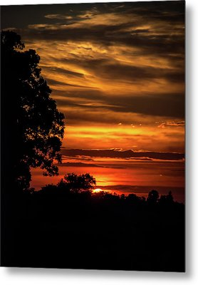 Metal Print featuring the photograph The Setting Sun by Mark Dodd