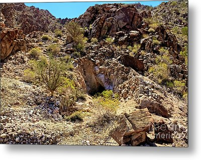 Metal Print featuring the photograph The Shafted Mine by Robert Bales