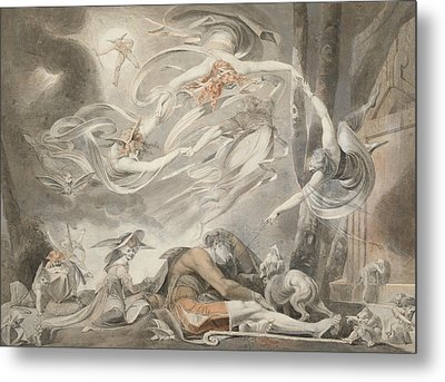 The Shepherd's Dream Metal Print