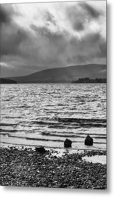 Metal Print featuring the photograph The Shores Of Loch Lubnaig by Christi Kraft