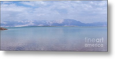 The Silence Of The Dead Sea Metal Print by Yoel Koskas