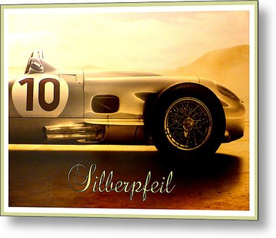 The Silver Arrow Metal Print