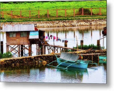 The Simple Life In Living Color Metal Print