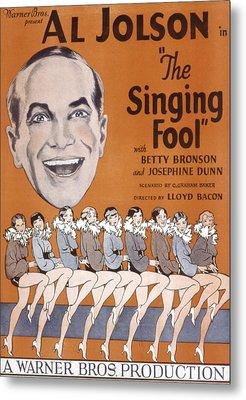 The Singing Fool, Al Jolson, 1928 Metal Print