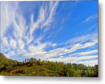 The Skies Metal Print by Heiko Koehrer-Wagner