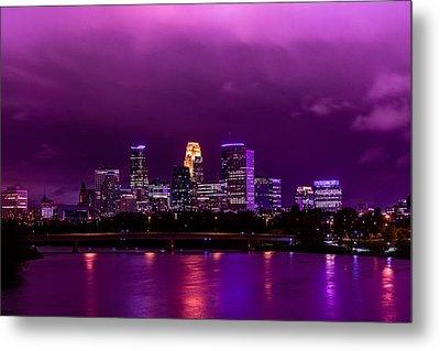 The Sky Was So Purple...  Metal Print by Mark Goodman