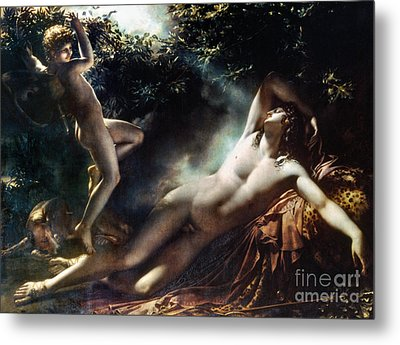 The Sleep Of Endymion Metal Print by Granger