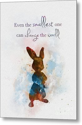 The Smallest One Metal Print