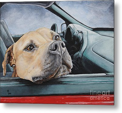 The Smell Of Freedom Metal Print by Mary-Lee Sanders