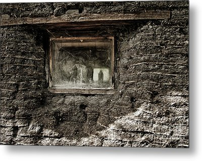 Metal Print featuring the photograph The Sod House by Brad Allen Fine Art