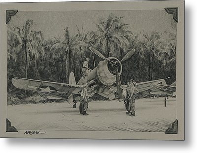 The Solomons 1943 Metal Print
