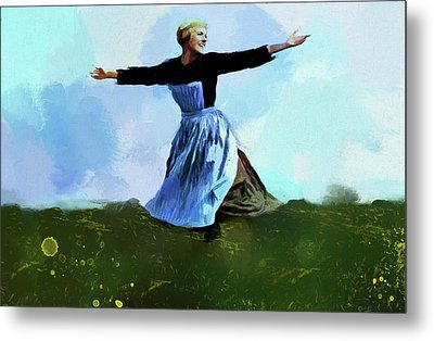 The Sound Of Music Metal Print by Dan Sproul