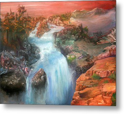 The Source Metal Print by Sherry Shipley
