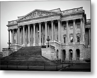 The South End In Black And White Metal Print by Greg Mimbs