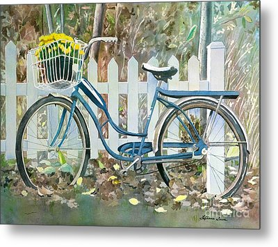 The Special Delivery Metal Print by LeAnne Sowa