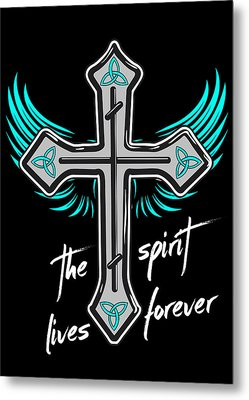 The Spirit Lives Forever II Metal Print