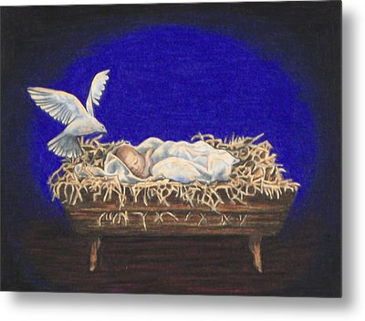 The Spirit Of Peace Metal Print by Laurie Tietjen