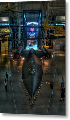 The Sr-71 Metal Print