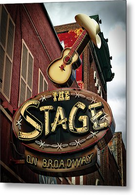 The Stage On Broadway Metal Print