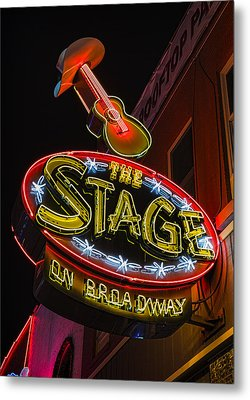 The Stage On Broadway Metal Print by Stephen Stookey