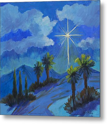 The Star Metal Print by Diane McClary